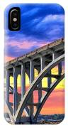 Sunset At Yaquina Bay IPhone Case