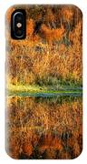 Sunset Glow On The Pond IPhone Case
