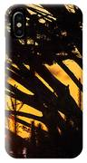 Sunset In The Trees IPhone Case