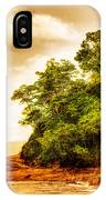 Sunset On The Beach Of Costa Rica IPhone Case