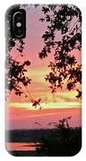 Sunset Over Canyon Lake IPhone Case