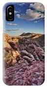Sunset Over Red Rocks IPhone Case