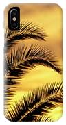 Sunset Palms IPhone Case