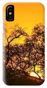 Sunset, Sabi Sand Reserve, Mpumalanga IPhone Case