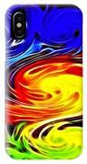 Sunset Swirl IPhone Case