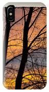 Sunset Window View IPhone Case