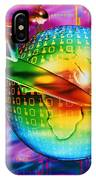 Surfing Cyberspace IPhone Case