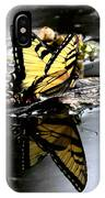 Swallowtail In Water IPhone Case