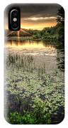 Swamp Sunrise IPhone Case