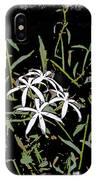 Swamplilies IPhone Case
