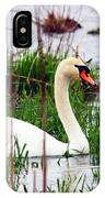 Swan's Marsh IPhone Case