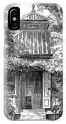 Swedenborgs Cottage IPhone Case