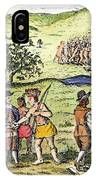 Swedish Colonists, 1702 IPhone Case