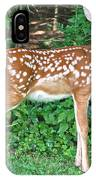 Sweet Little Fawn IPhone Case