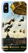 Swings At Sunset IPhone Case