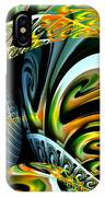 Swirling Colors IPhone Case