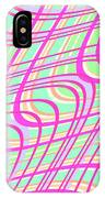 Swirly Check IPhone Case