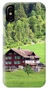 Swiss Village In The Alps IPhone Case