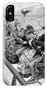 Switchback Railway, 1886 IPhone Case