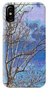Sycamore Tree Branch Art IPhone Case