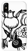Symbol: Three Fruits IPhone Case