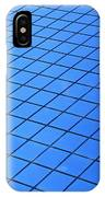 Symmetrical Pattern Of Blue Squares IPhone Case