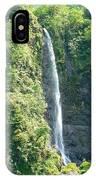 Tahitian Waterfall IPhone Case