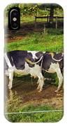 Tail Of Two Cows IPhone Case
