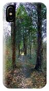 Taking The Long Trail IPhone Case