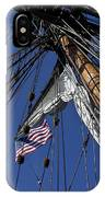 Tall Ship Rigging IPhone Case