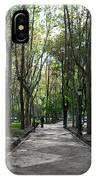Tall Trees Of Madrid IPhone Case