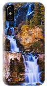 Tangle Falls At Dusk, Jasper National IPhone Case