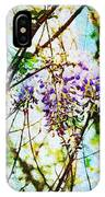 Tangled Wisteria IPhone X Case