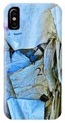 Tattered Paper On A Bulletin Board No.1045 IPhone Case