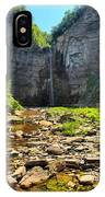 Taughannock Falls Canyon IPhone Case