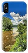 Taughannock Falls Creek IPhone Case