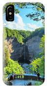 Taughannock Falls Overlook IPhone Case