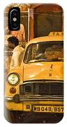 Taxi Talk IPhone Case