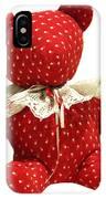 Teddy Bear Of Love IPhone Case