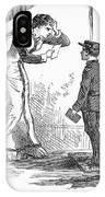 Telegram: Death, 1879 IPhone Case