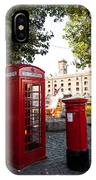 Telephone And Mail Box IPhone Case