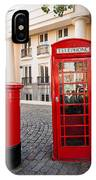 Telephone And Post Box IPhone Case