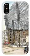 Telephone/telegraph Lines IPhone Case