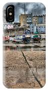 Tenby Harbour 2 IPhone Case