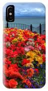 Tenby In Bloom IPhone Case