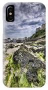 Tenby Rocks 4 IPhone Case