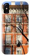 Tenement House Facade In Madrid IPhone Case