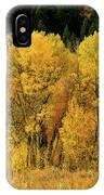 Teton Autumn Foliage IPhone Case