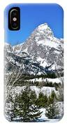 Teton Winter Landscape IPhone Case