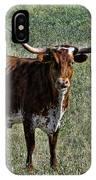 Texa Longhorn IPhone Case